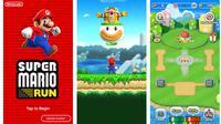 Tampilan gim Super Mario Run. (Liputan6.com/ Yuslianson)