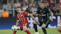 Real Madrid tidak pernah kalah apabila Licas Vazquez (kanan) tampil sejak awal. (AP Photo/Matthias Schrader)