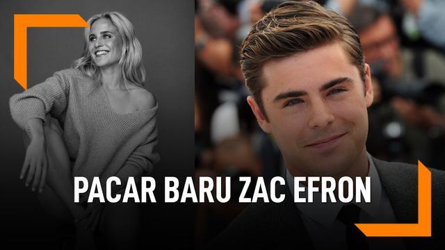 Perempuan Ini Dikabarkan Jadi Pacar Baru Zac Efron