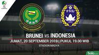 AFC U16 - Brunei Darussalam Vs Indonesia (Bola.com/Adreanus Titus)