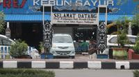 Kebun Sayur Balikpapan pusat suvenir Kalimantan (Liputan6.com / Abelda Gunawan)