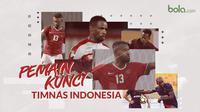 Pemain kunci Timnas Indonesia. (Bola.com/Dody Iryawan)