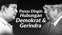 Hubungan Partai Demokrat dan Gerindra kembali memanas.