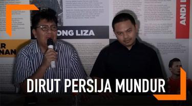 Gede Widiade menegaskan pengunduran dirinya dari jabatan Direktur Utama Persija Jakarta sudah diputuskan sejak lama.