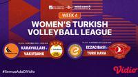 Link Live Streaming Liga Voli Turki di Vidio Malam Ini, Selasa 19 Oktober 2021. (Sumber : dok. vidio.com)