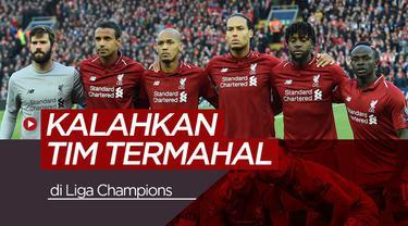 Berita video total nilai pasar pamin Liverpool saat kalahan Barcelona di semifinal Liga Champions leg kedua, Rabu (8/5/2019) di Anfield, Liverpool.