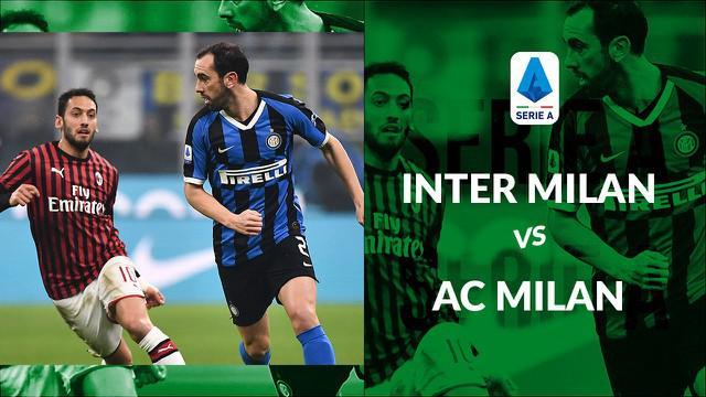 Berita video statistik Inter Milan vs AC Milan pada laga pekan ke-23 Serie A 2019-2020 yang berakhir dengan skor 4-2, Senin (10/2/2020) di Stadion Giuseppe Meazza, Milan.