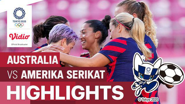 Berita Video Kalahkan Australia, Amerika Serikat Raih Perunggu di Cabang Olahraga Sepak Bola Putri Olimpiade Tokyo 2020