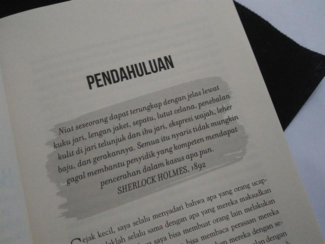 Kitab Bahasa Tubuh./Copyright Vemale/Endah