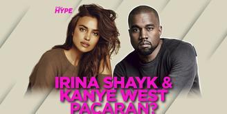 Irina Shayk Liburan Bareng Kanye West di Prancis