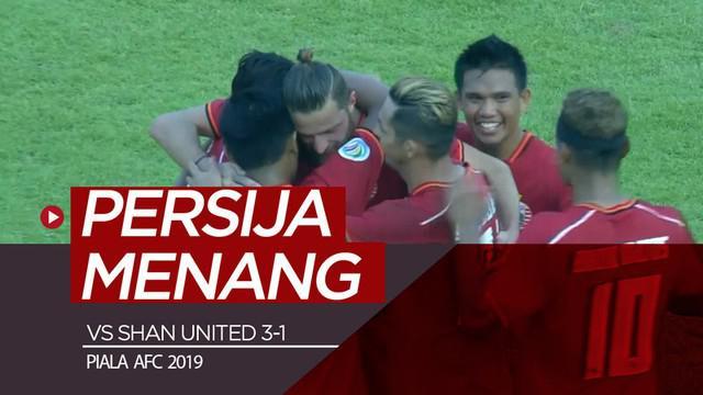 Berita video highlights laga grup G Piala AFC 2019 antara Shan United melawan Persija Jakarta yang berakhir dengan skor 1-3 di Stadion Thuwanna YTC, Selasa (12/3/2019).