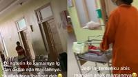 Viral bidan bantu persalinan anak mantan pacar banjir pujian warganet. Sumber: TikTok/anaknyapapa27