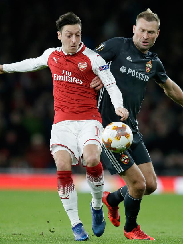 Arsenal Libas CSKA Moscow 4-1, Peluang Semifinal Terbuka Lebar