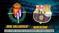 Real Valladolid akan menjamu tim raksasa dari Catalan, Barcelona