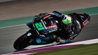 Franco Morbidelli gagal raih poin di MotoGP Argentina (Francesco Cacace/AFP)