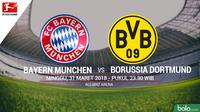 Bundesliga_Bayern Munchen Vs Borussia Dortmund (Bola.com/Adreanus Titus)