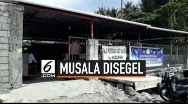Warga Minahasa Utara digegerkan dengan viralnya video penyegelan sebuah musala. Ternyata ada salah paham dibalik aksi penyegelan musala tersebut.