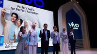 Peluncuran Vivo V5s Pure White Limited Edition. Liputan6.com/Agustinus Mario Damar