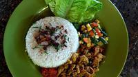 Vegan Chicken Betutu, salah satu kuliner dari Vegan Saubagani Bali