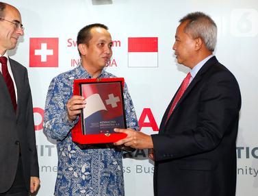 Indonesia dan Swiss Pererat Kerjasama Dorong Pertumbuhan Ekonomi