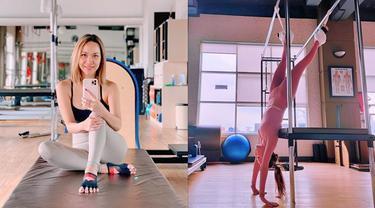 Bugar di Usia 38 Tahun, Ini 6 Potret BCL saat Latihan Pilates
