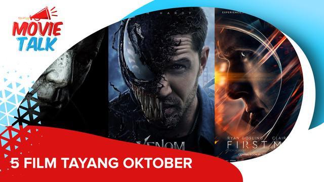 Nggak kerasa nih udah mau masuk bulan Oktober aja. Ada rekomendasi 5 film yang bakal tayang di bulan ini. Penasaran nggak sih? Tonton sampai habis ya!