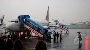 Jumlah armada Batik Air mencapai 49 unit yang terdiri dari Boeing 737-800, 737-900 ER dan Airbus A320 CEO.