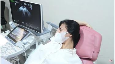 7 Momen Felicya Angelista Periksa Kandungan, Menangis Dengar Detak Jantung Si Kecil
