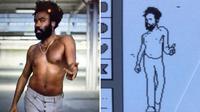 Karya Pinot yang membuat animasi video musik Childish Gambino dengan komputer Apple lawas. (Foto: Dream.co.id)