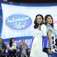 Maia Estianty puji bakat dua finalis Indonesian Idol X, Tiara dan Lyodra menuju babak akhir. (Bambang E Ros/Fimela.com)