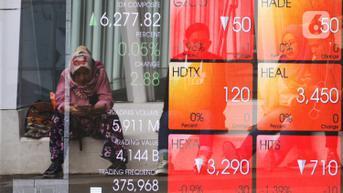 IHSG Naik 0,43 Persen, Investor Asing Borong Saham BBRI hingga ITMG
