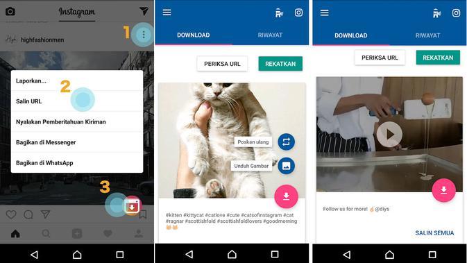 Aplikasi video download Instagram (foto: Google Play)