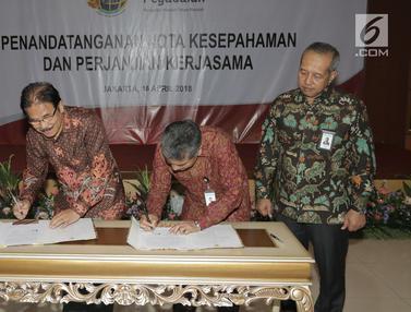 Jalin Kerjasama, Pegadaian Gandeng Kementerian Agraria dan Tata Ruang