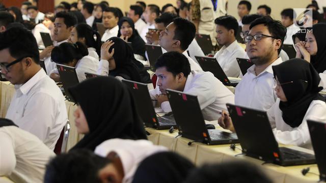 Mengintip Seleksi CPNS 2018 di Gedung Wali Kota Jaksel