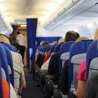 Ilustrasi kabin pesawat (Pixabay)