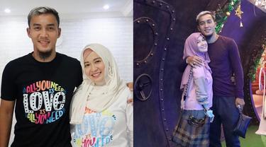 6 Potret Manis Okie Agustina dan Suami, 9 Tahun Bersama
