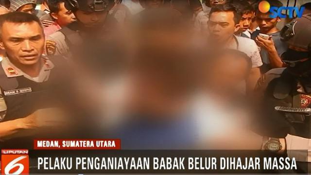 Kesal mantan istrinya lolos, pelaku kemudian mendatangi rumah mantan mertuanya yang lokasinya bersebelahan.