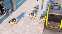 Robot Anjing Pengantar Paket (Sumber: Designboom)