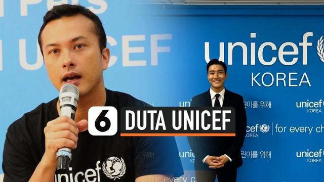 UNICEF mendaulat Nicholas Saputra dan Choi Siwon menjadi duta UNICEF. Nicholas sebagai duta UNICEF Indonesia, sedangkan Siwon sebagai duta UNICEF Asia Timur Pasifik.