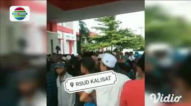 Seorang remaja RR (19) diamankan petugas polisi ke ruang Satreskrim Polres Jember, Jawa Timur pada Sabtu siang (12/6) atas dugaan kasus penyebaran video provokasi yang mengundang kerumunan massa di rumah sakit daerah setempat.