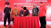 Program ini juga sebagai bentuk upaya Pemkab Sidoarjo dalam memberantas pungutan liar (pungli) terutama di pasar. (Liputan6.com/Dian Kurniawan).