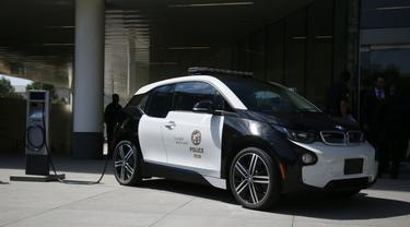 Demi Tekan Emisi, Polisi Los Angeles Pinjam BMW i3