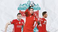 Liverpool - James Milner, Adrian, Jordan Henderson (Bola.com/Adreanus Titus)