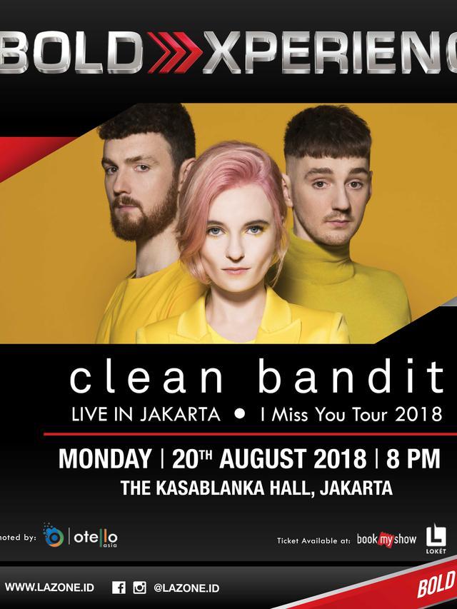 Konser BOLD XPRERIENCE - Clean Bandit Live in Jakarta