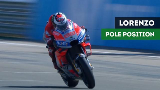 Berita video Kualifikasi MotoGP Aragon, di mana Jorge Lorenzo menjadi yang tercepat, sedangkan Valentino Rossi akan start dari posisi ke-18, Sabtu (22/9/2018).