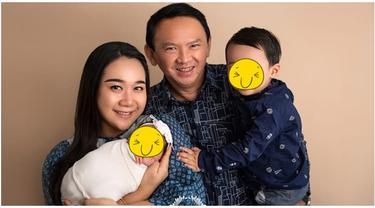 6 Pemotretan Terbaru Keluarga Ahok dan Puput Nastiti, Kedua Anaknya Bikin Gemas