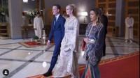 Ivanka Trump tampil memukau dengan gaun kaftan emas saat berkunjung ke Maroko (Dok.Instagram/@ivankatrump/https://www.instagram.com/p/B4lWCAaBtSj/Komarudin)