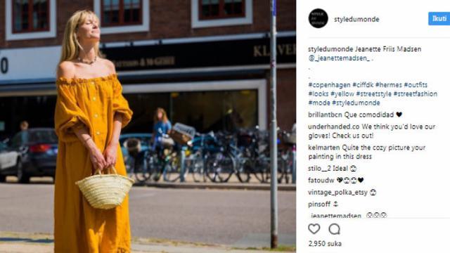 Tampil Keren Dengan Tren Fashion Busana Warna Kuning Kunyit