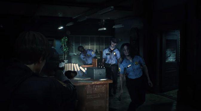 Capcom resmi umumkan Resident Evil 2 di E3 2018. (Doc: Capcom)