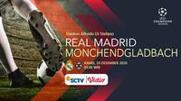 Real Madrid vs Borussia Monchendgladbach (Liputan6.com/Abdillah)